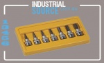 "Socket Set 3/8"" Drive AF Inhex 7pc"