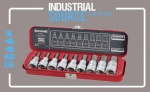 SOCKET SET 1/2 DR INHEX 9 PC