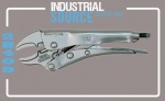 Plier Locking Curved Jaw 300mm, Jaw Capacity: 65mm